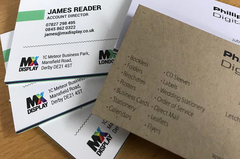 james reader business cards printed
